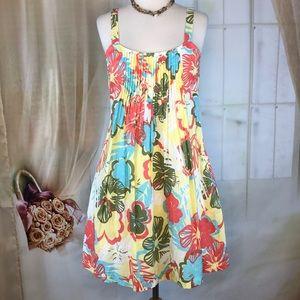Amercan Rag Dresses - American Rag Floral Cotton Summer Dress